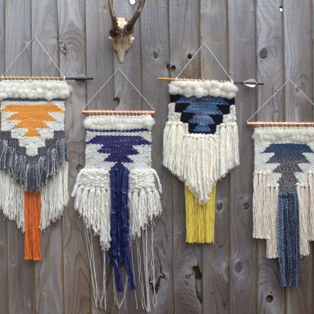 Best ideas about Woven Wall Art . Save or Pin Bohemian Woven Wall Hangings Now.