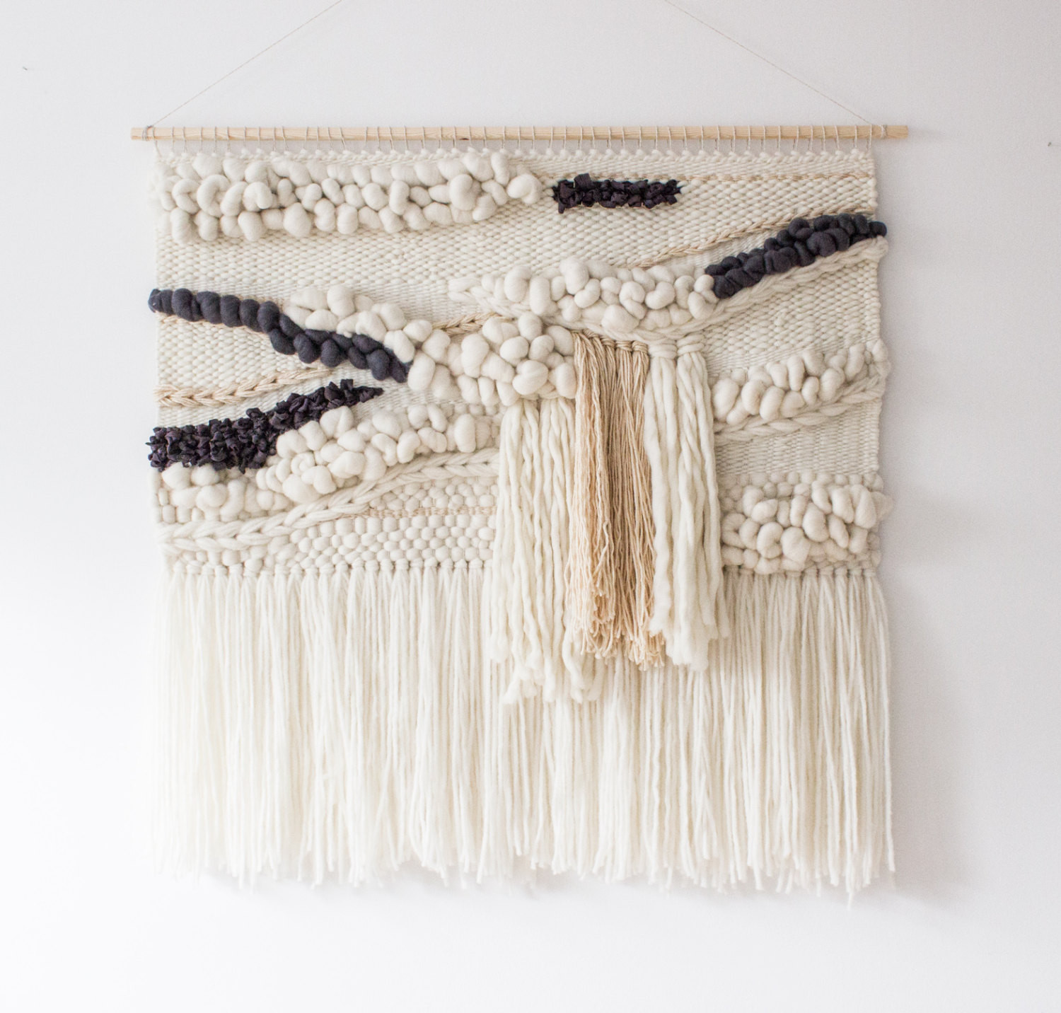 Best ideas about Woven Wall Art . Save or Pin Extra large woven wall hanging Woven wall art tapestry Now.