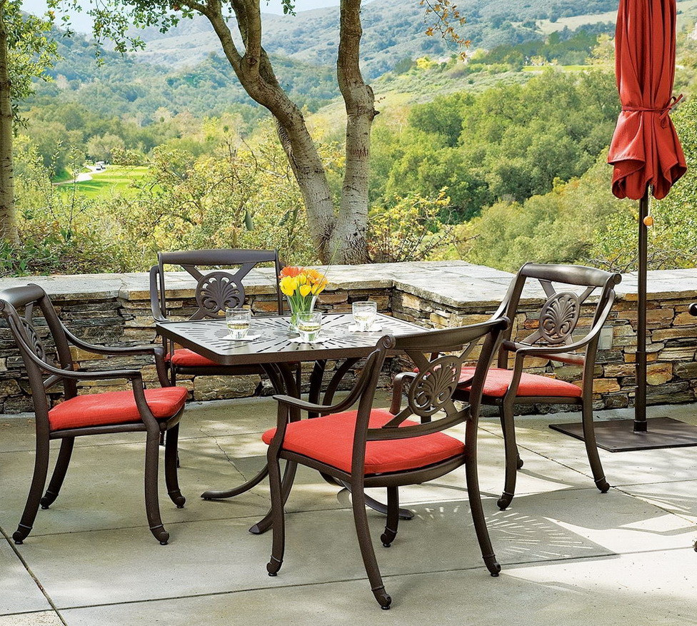 Best ideas about Wrought Iron Patio Furniture Lowes . Save or Pin Furniture Stylish Wrought Iron Patio Furniture Lowes For Now.