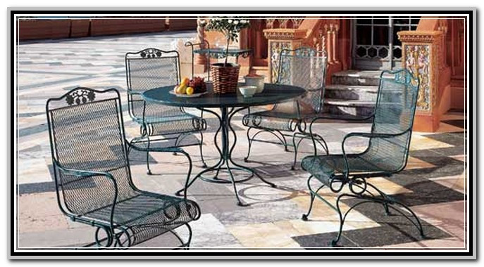 Best ideas about Wrought Iron Patio Furniture Lowes . Save or Pin Wrought Iron Patio Furniture Lowes Garden & Patio Home Now.