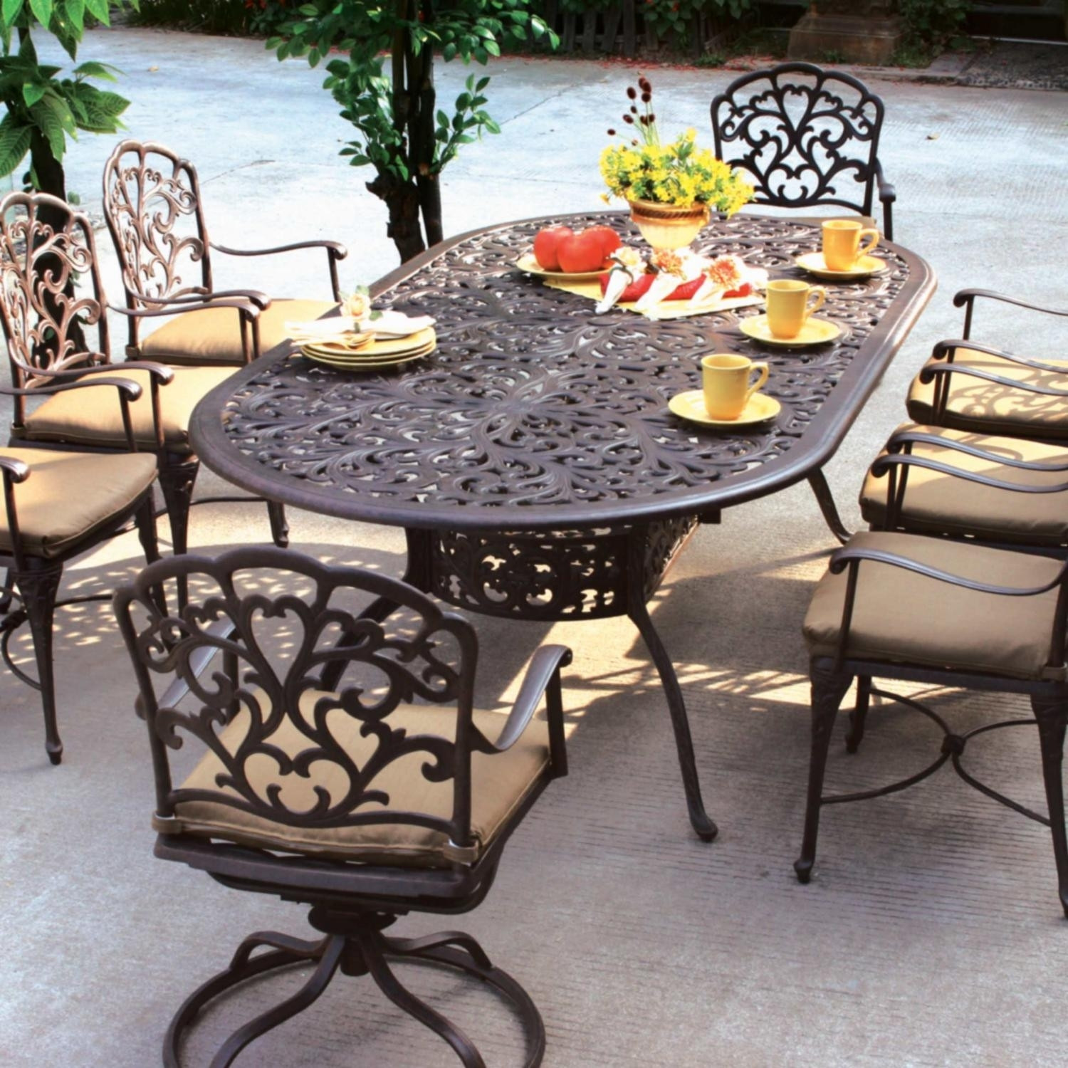 Best ideas about Wrought Iron Patio Furniture Lowes . Save or Pin Affordable Diy Patio Furniture Ideas For You — The Home Now.