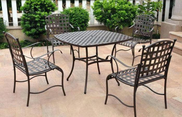 Best ideas about Wrought Iron Patio Furniture Lowes . Save or Pin Wrought Iron Patio Chairs How To Paint Furniture Lowes Now.