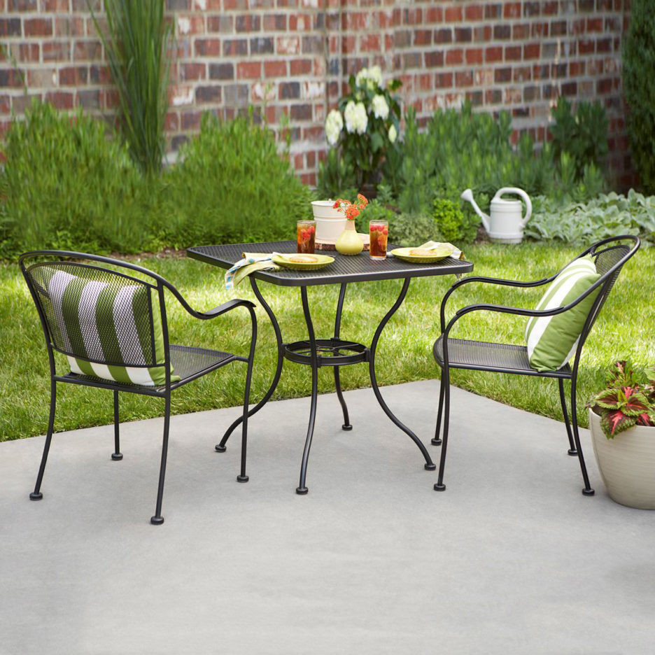 Best ideas about Wrought Iron Patio Furniture Lowes . Save or Pin Impressive Wrought Iron Patio Furniture Lowes Outdoor Now.