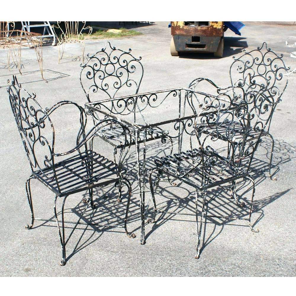 Best ideas about Wrought Iron Patio Furniture Lowes . Save or Pin Modern Outdoor Ideas Wrought Iron Patio Furniture Lowes Now.
