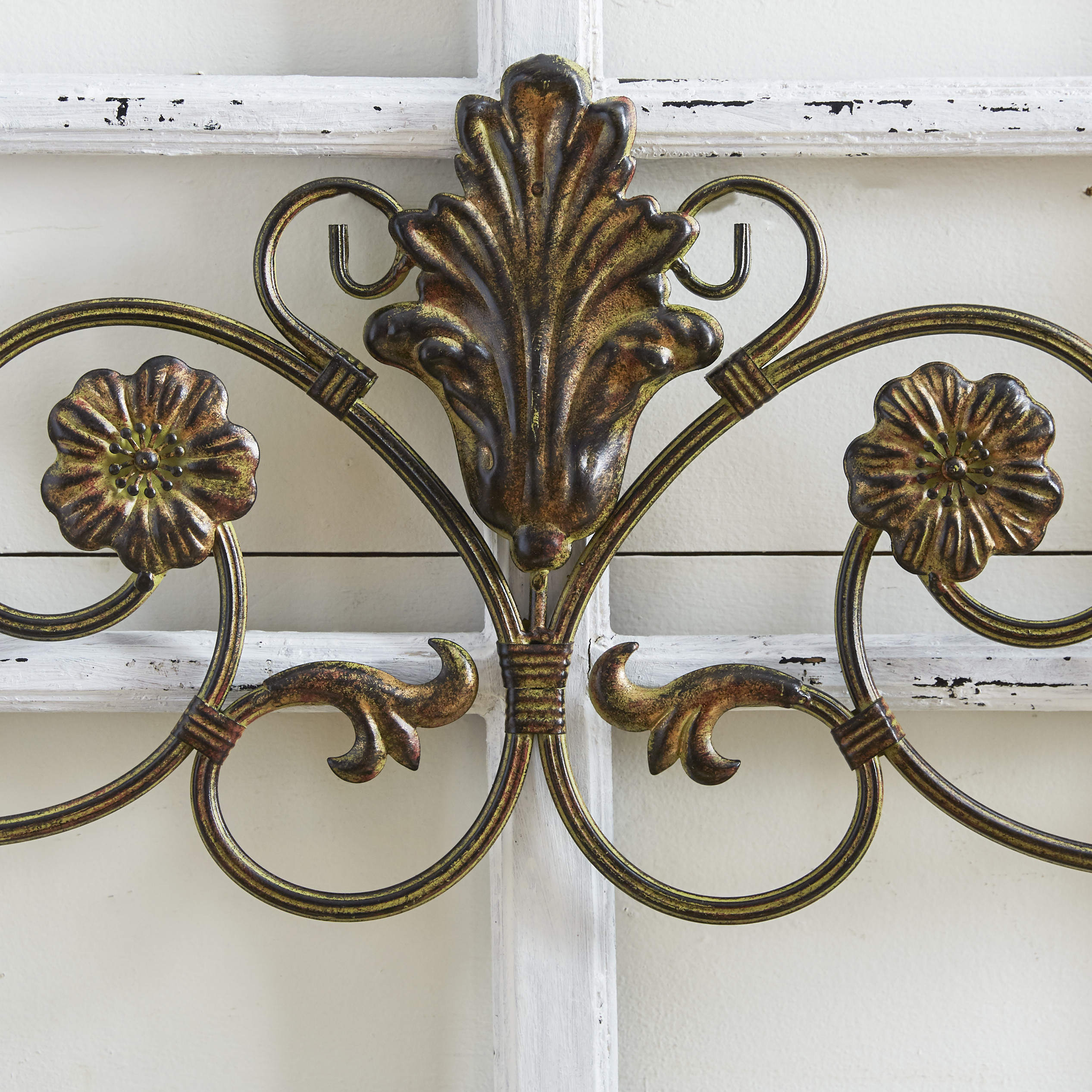 Best ideas about Wrought Iron Wall Art . Save or Pin Charlton Home Wrought Iron Wall Décor & Reviews Now.