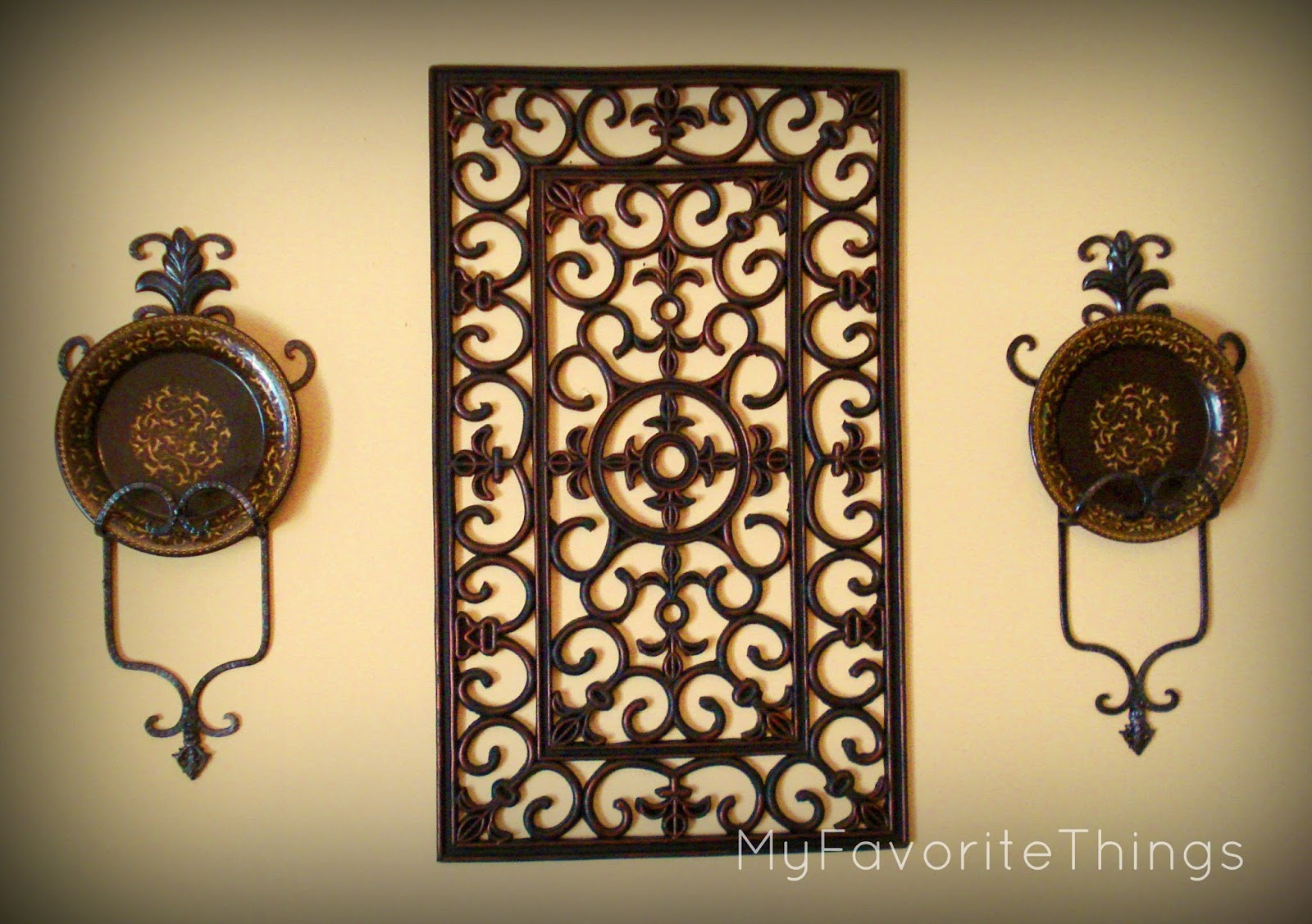 """Best ideas about Wrought Iron Wall Art . Save or Pin My Favorite Things """"Wrought Iron"""" Wall Art Now."""