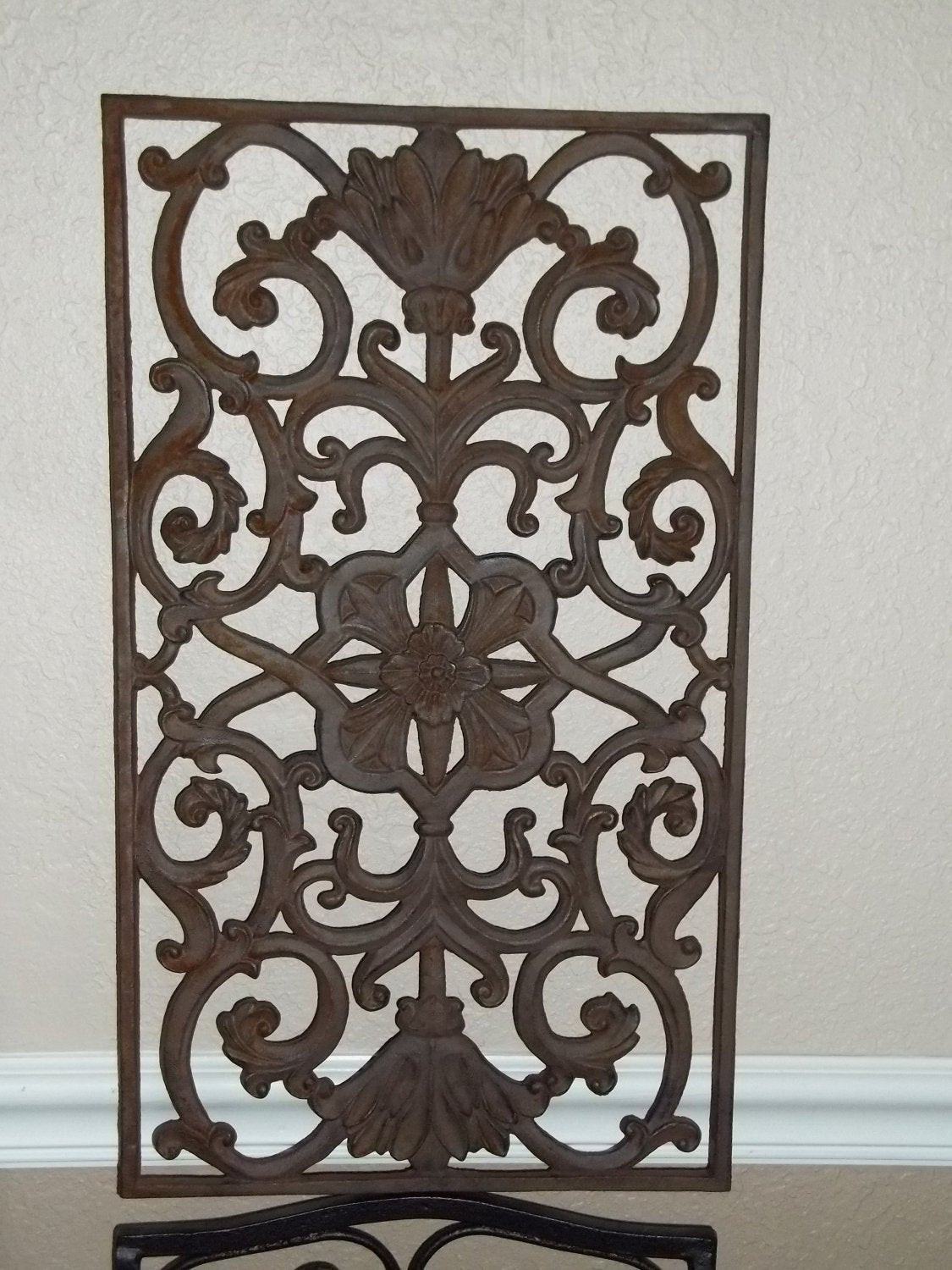 Best ideas about Wrought Iron Wall Art . Save or Pin Wrought Iron Rustic Wall Art Now.