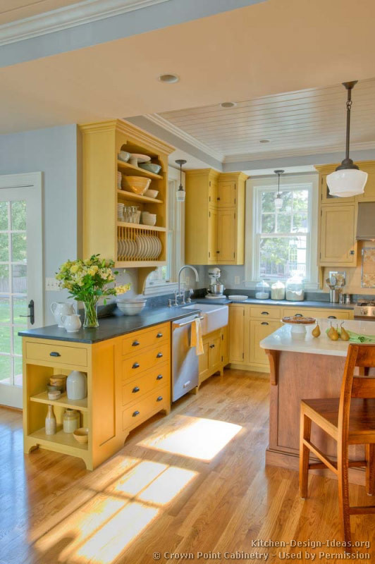 Best ideas about Yellow Kitchen Decorating Ideas . Save or Pin Country Kitchen Design and Decorating Ideas Now.