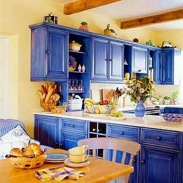 Best ideas about Yellow Kitchen Decorating Ideas . Save or Pin 1000 ideas about Blue Yellow Kitchens on Pinterest Now.