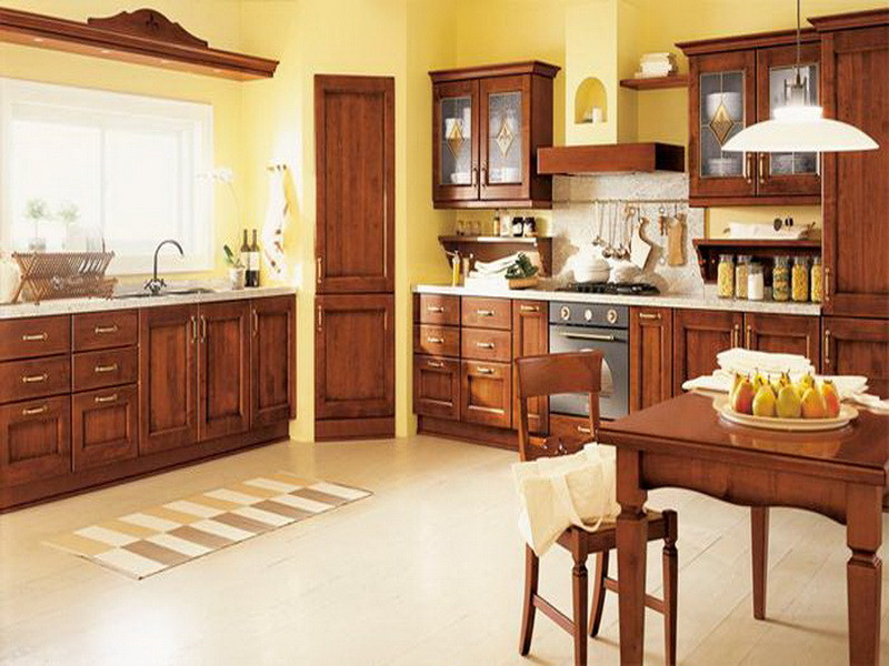 Best ideas about Yellow Kitchen Decorating Ideas . Save or Pin Kitchen Yellow Wall Italian Decorating Ideas Kitchen How Now.