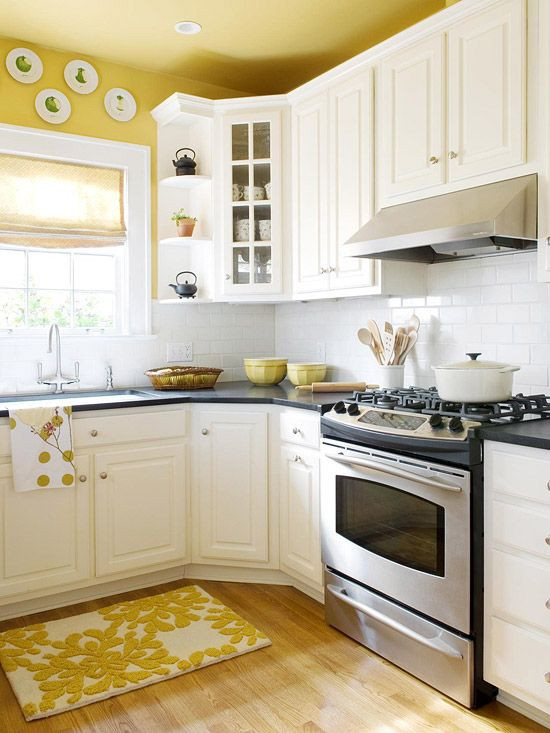 Best ideas about Yellow Kitchen Decorating Ideas . Save or Pin 10 Kitchen Decor Ideas for Your Mobile Home Rental Now.