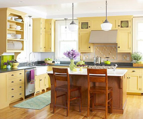 Best ideas about Yellow Kitchen Decorating Ideas . Save or Pin 25 best ideas about Yellow country kitchens on Pinterest Now.