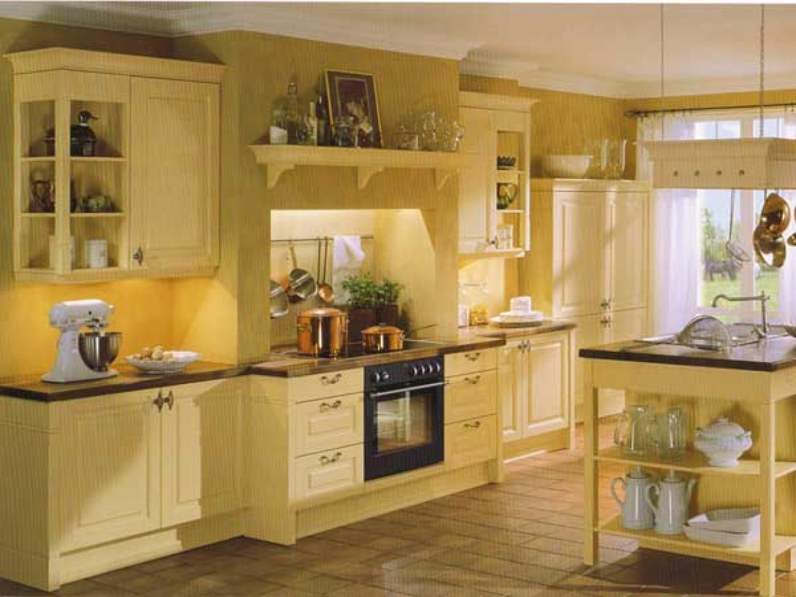 Best ideas about Yellow Kitchen Decorating Ideas . Save or Pin Yellow kitchens french country kitchen decorating ideas Now.