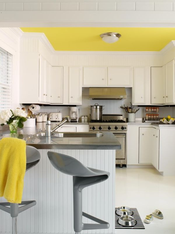 Best ideas about Yellow Kitchen Decorating Ideas . Save or Pin Decorating Yellow & Grey Kitchens Ideas & Inspiration Now.