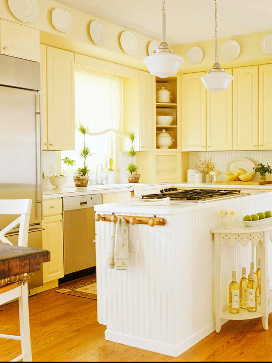 Best ideas about Yellow Kitchen Decorating Ideas . Save or Pin Modern Furniture Traditional Kitchen Design Ideas 2011 Now.