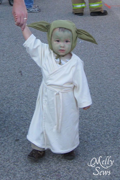 Best ideas about Yoda Costume DIY . Save or Pin The Ghosts of Halloweens Past Melly Sews Now.