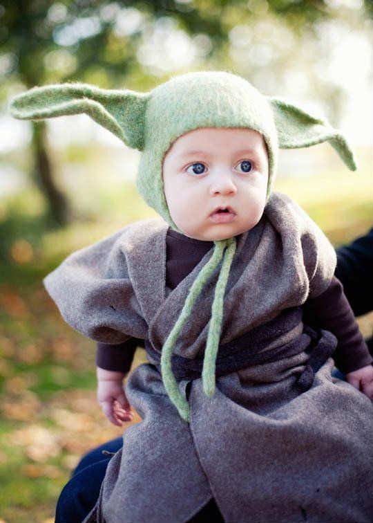 Best ideas about Yoda Costume DIY . Save or Pin 10 Absolutely Adorable Kids Costumes Tinyme Blog Now.