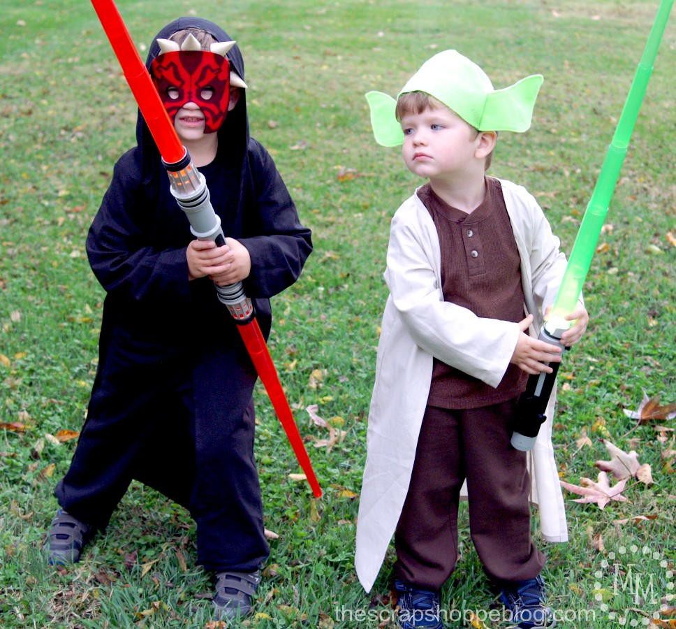 Best ideas about Yoda Costume DIY . Save or Pin Darth Maul and Yoda DIY Costumes for Kids Now.