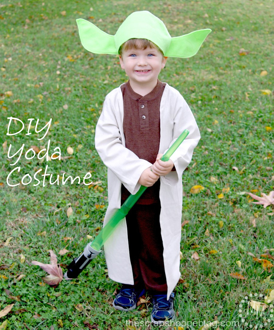 Best ideas about Yoda Costume DIY . Save or Pin DIY Darth Maul & Yoda Costumes The Scrap Shoppe Now.
