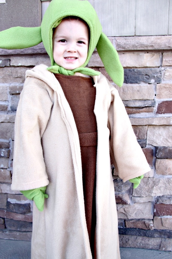 Best ideas about Yoda Costume DIY . Save or Pin DIY Yoda Costume DIY Disney Costumes Halloween Now.