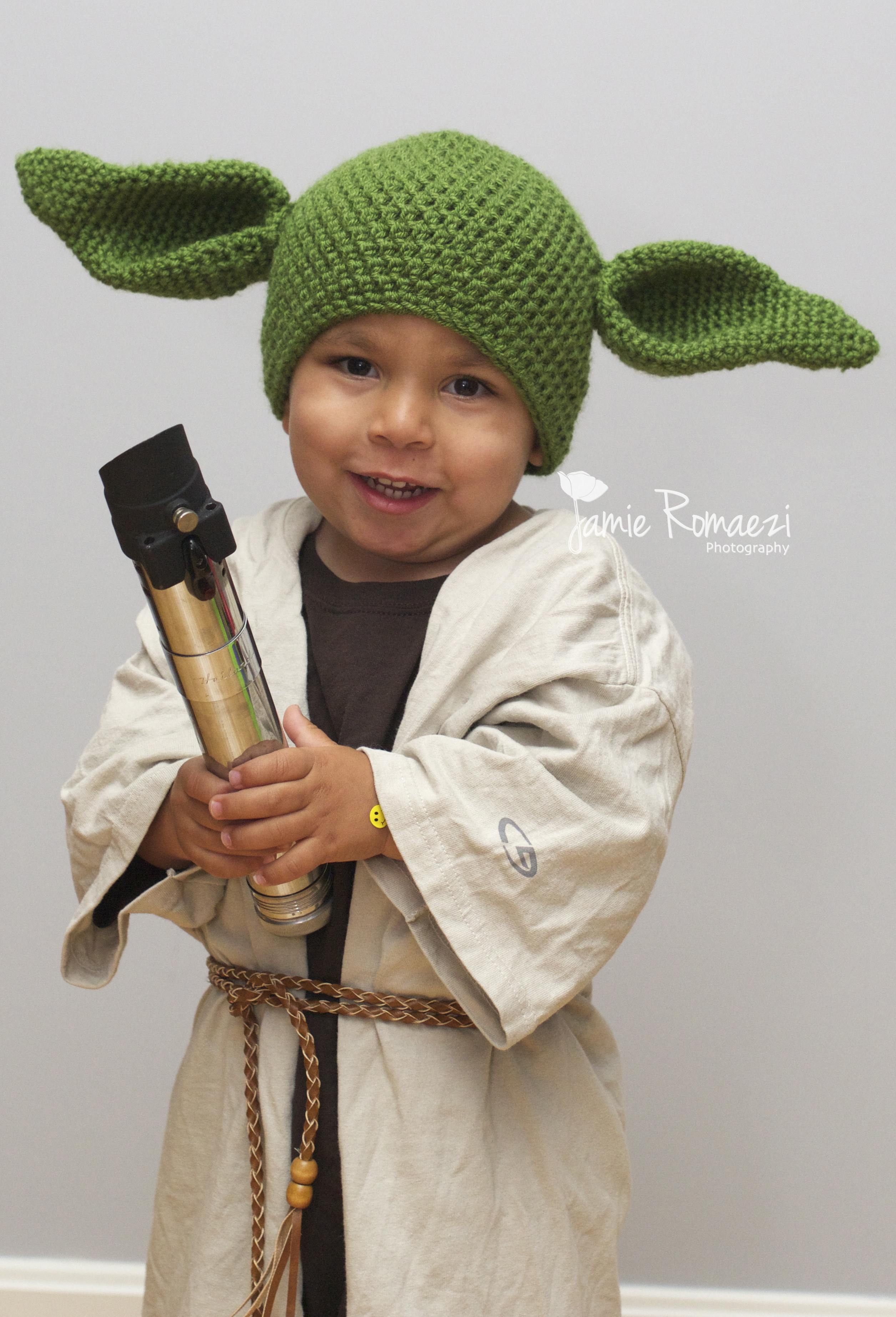 Best ideas about Yoda Costume DIY . Save or Pin Halloween 2013 Easy Homemade Toddler Yoda Costume Now.