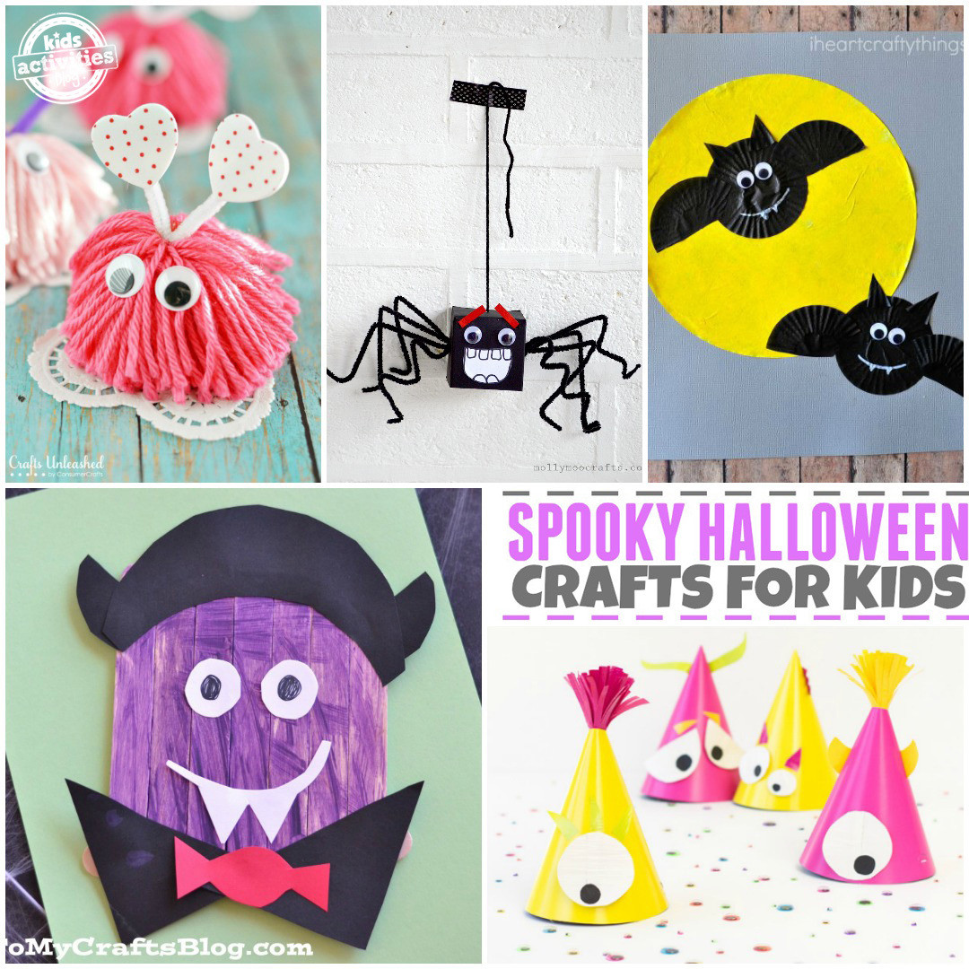 Best ideas about Youtube Crafts For Kids . Save or Pin 20 Halloween Crafts for Kids Now.