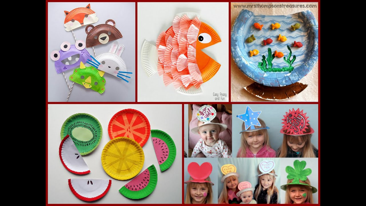 Best ideas about Youtube Crafts For Kids . Save or Pin Kid Craft Ideas – Paper Plate Crafts Now.