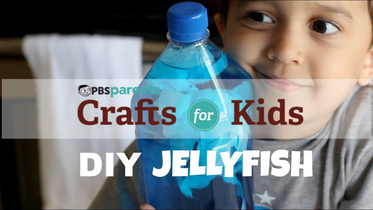 Best ideas about Youtube Crafts For Kids . Save or Pin Jellyfish in a Bottle Science Crafts for Kids Now.
