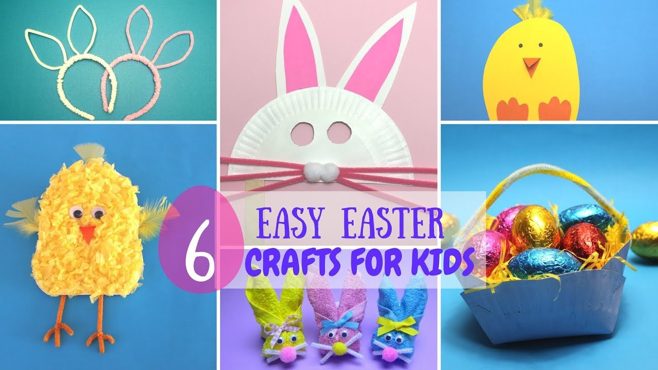 Best ideas about Youtube Crafts For Kids . Save or Pin 6 Easy Easter Crafts for Kids Now.