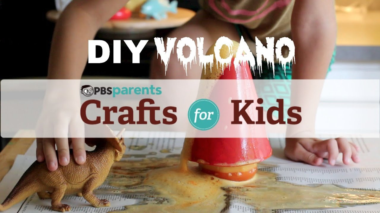 Best ideas about Youtube Crafts For Kids . Save or Pin DIY Volcano Science Crafts for Kids Now.