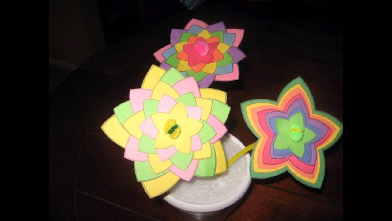 Best ideas about Youtube Crafts For Kids . Save or Pin Easy Crafts For Kids With Construction Paper Now.