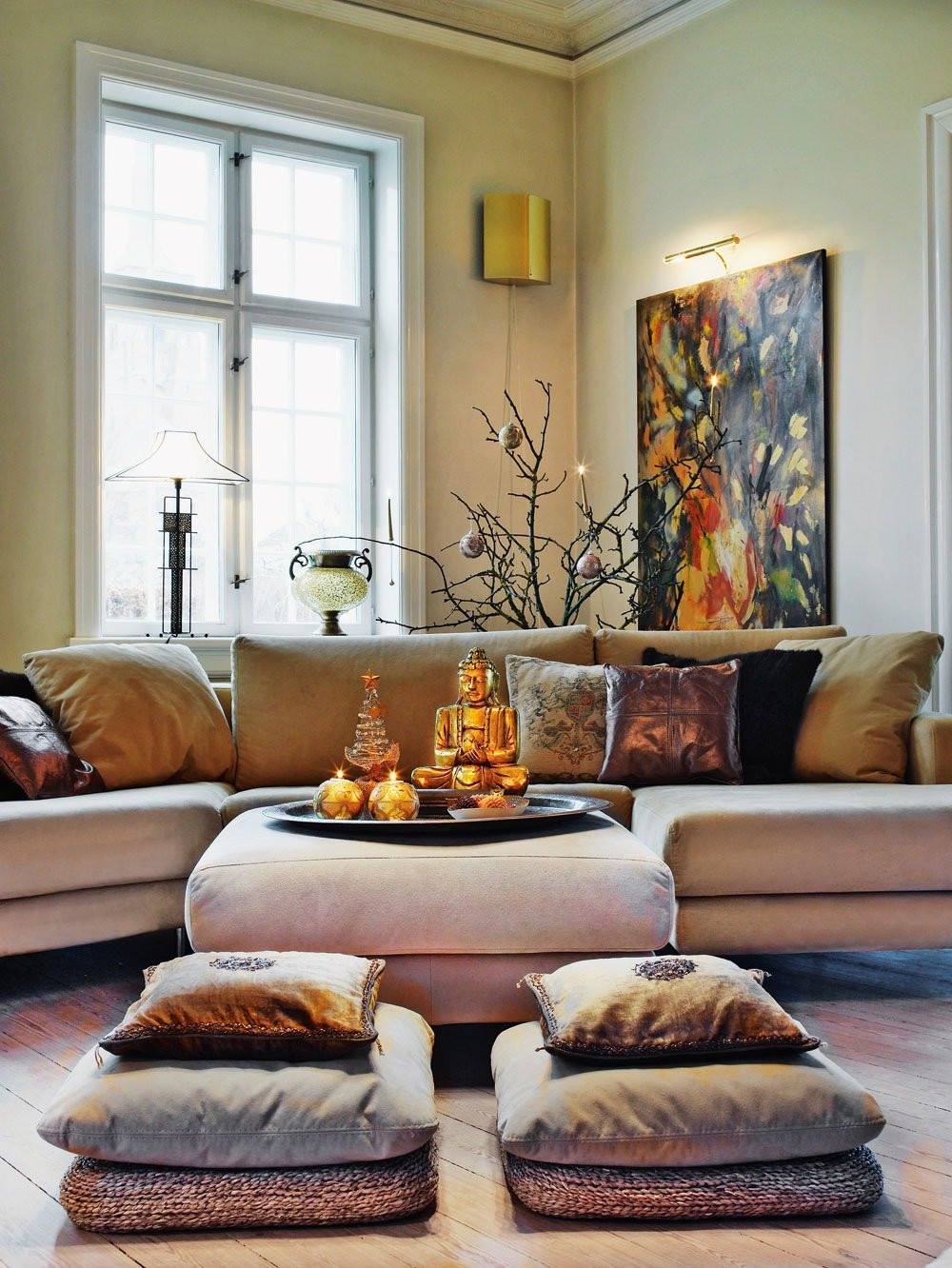 Best ideas about Zen Living Room . Save or Pin Zen Space 20 Beautiful Meditation Room Design Ideas Now.