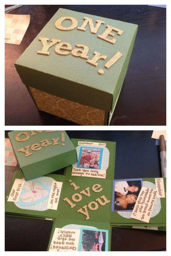 Best ideas about 1 Year Anniversary Gift Ideas For Her . Save or Pin First Year Wedding Anniversary Gift Ideas For Him Now.