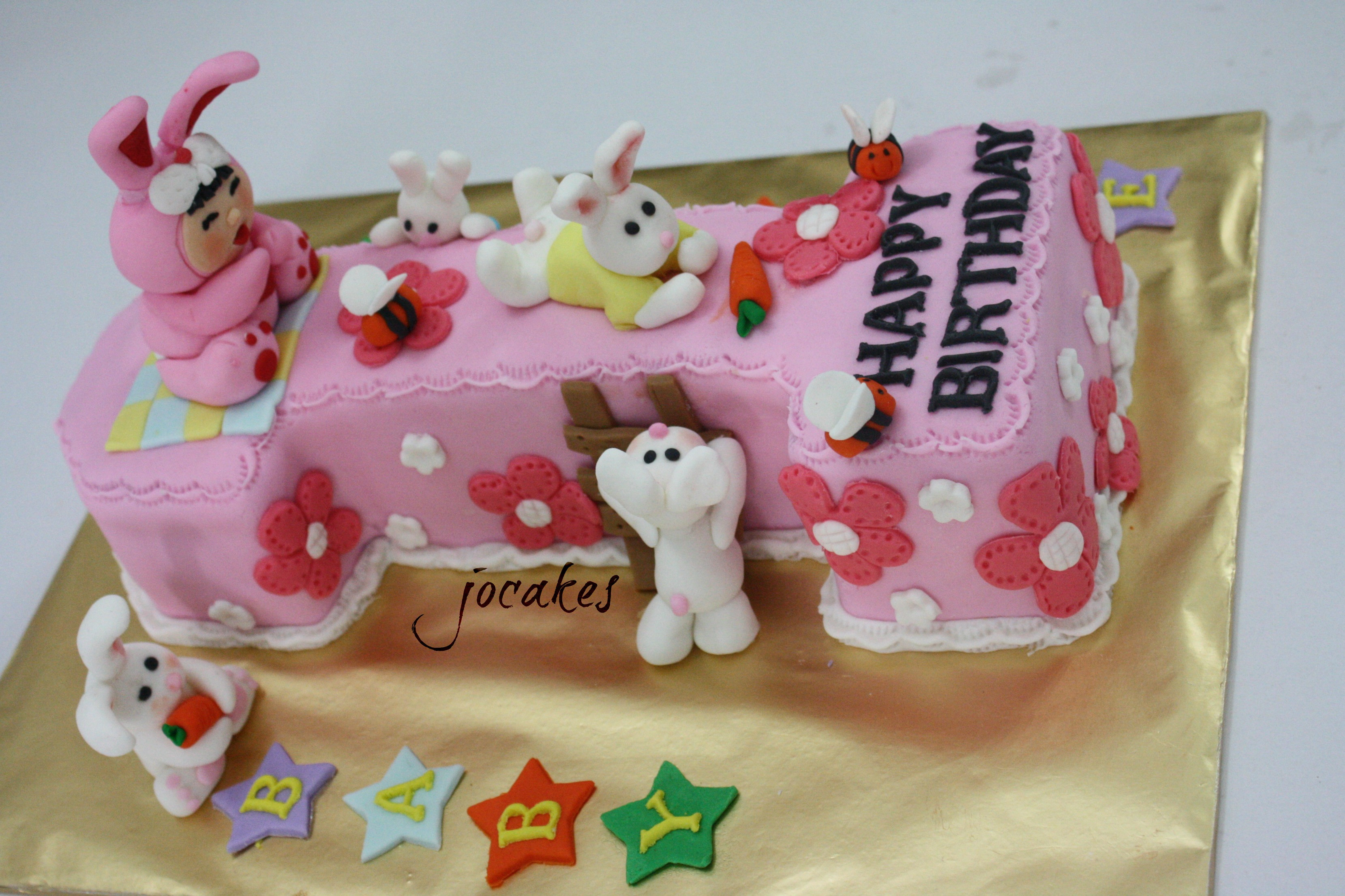 Best ideas about 1 Year Old Birthday Cake . Save or Pin Birthday cake for 1 year old baby Constance Now.