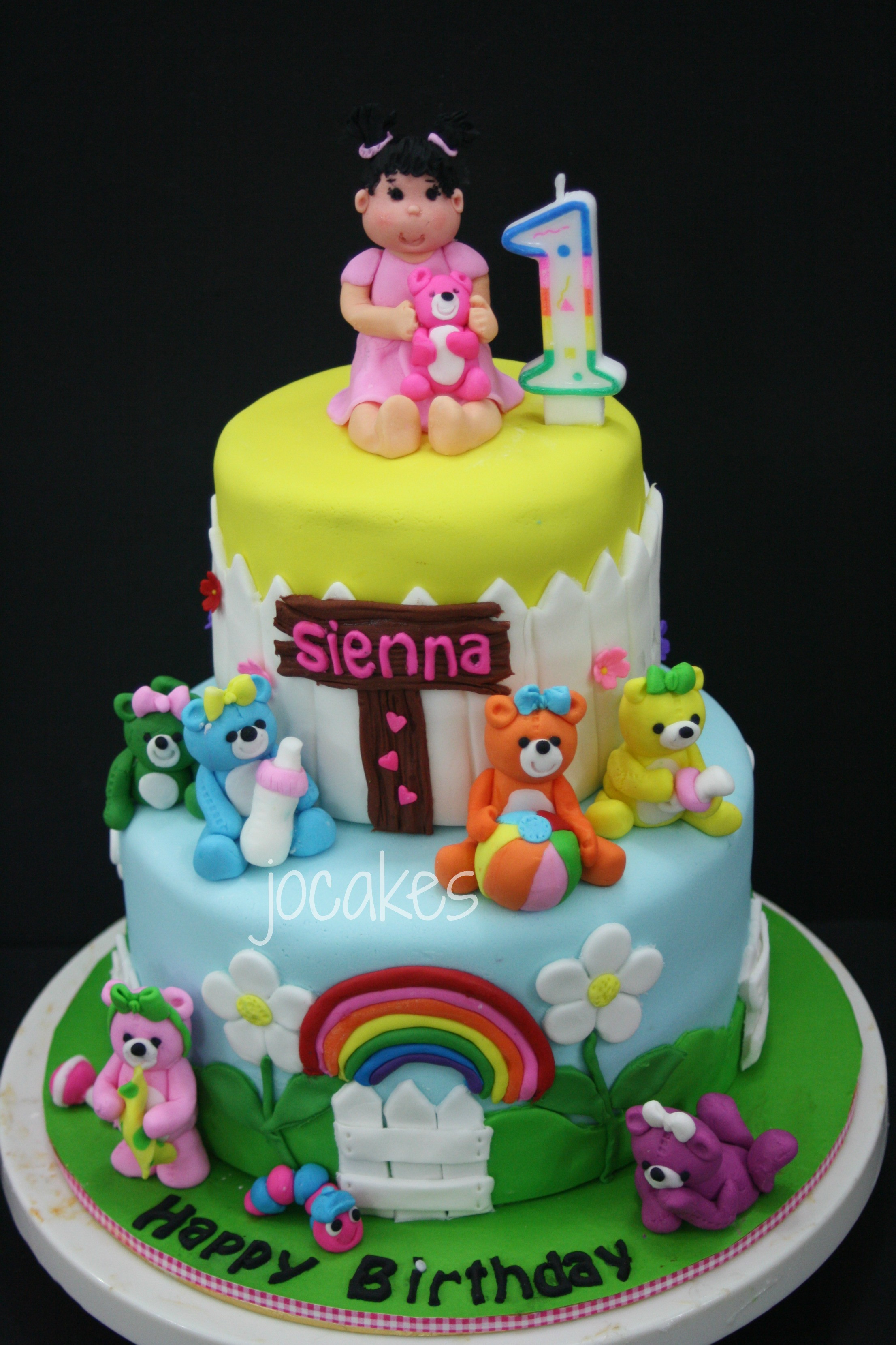 Best ideas about 1 Year Old Birthday Cake . Save or Pin 2 year old birthday cake Now.