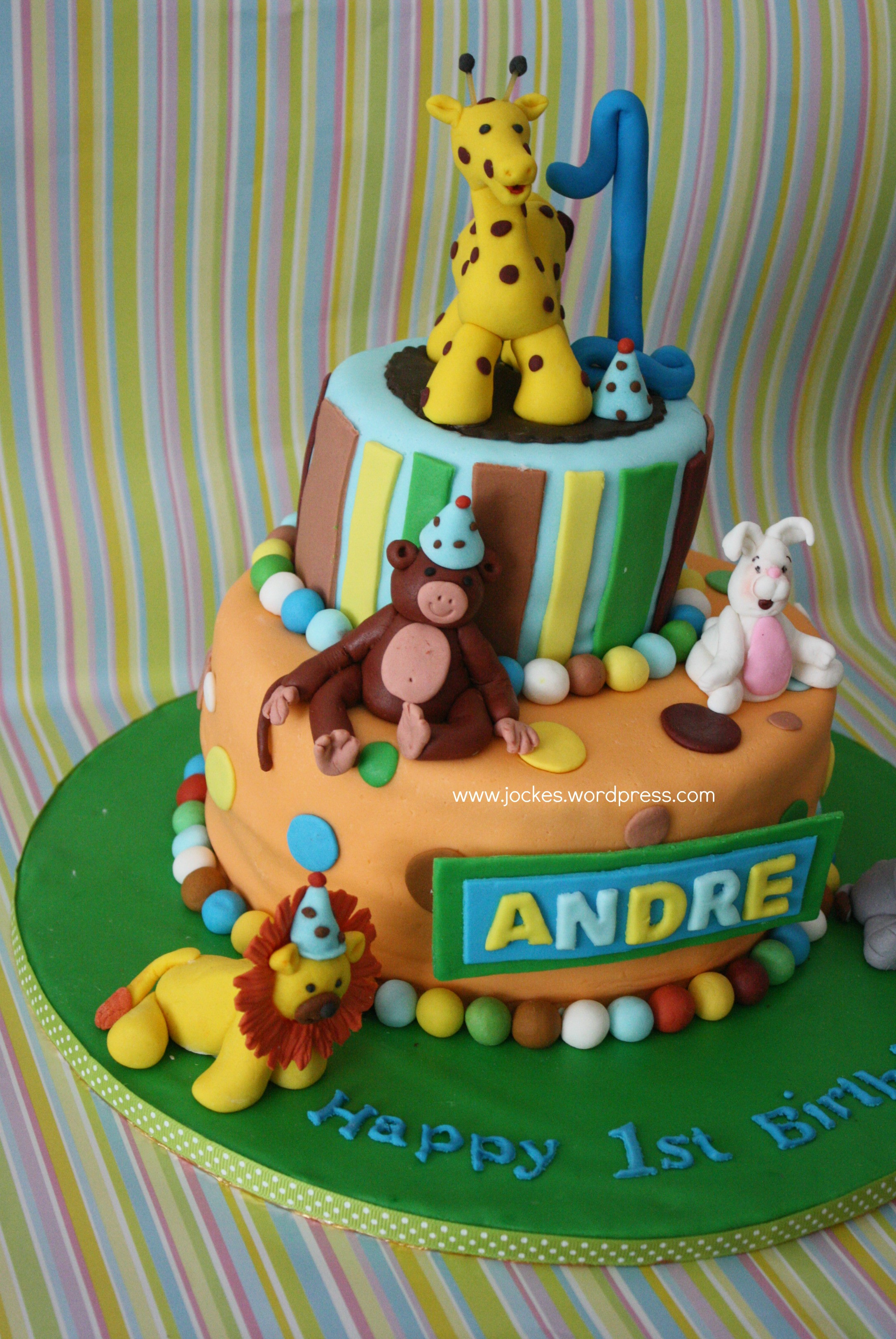 Best ideas about 1 Year Old Birthday Cake . Save or Pin Birthday Cakes Now.