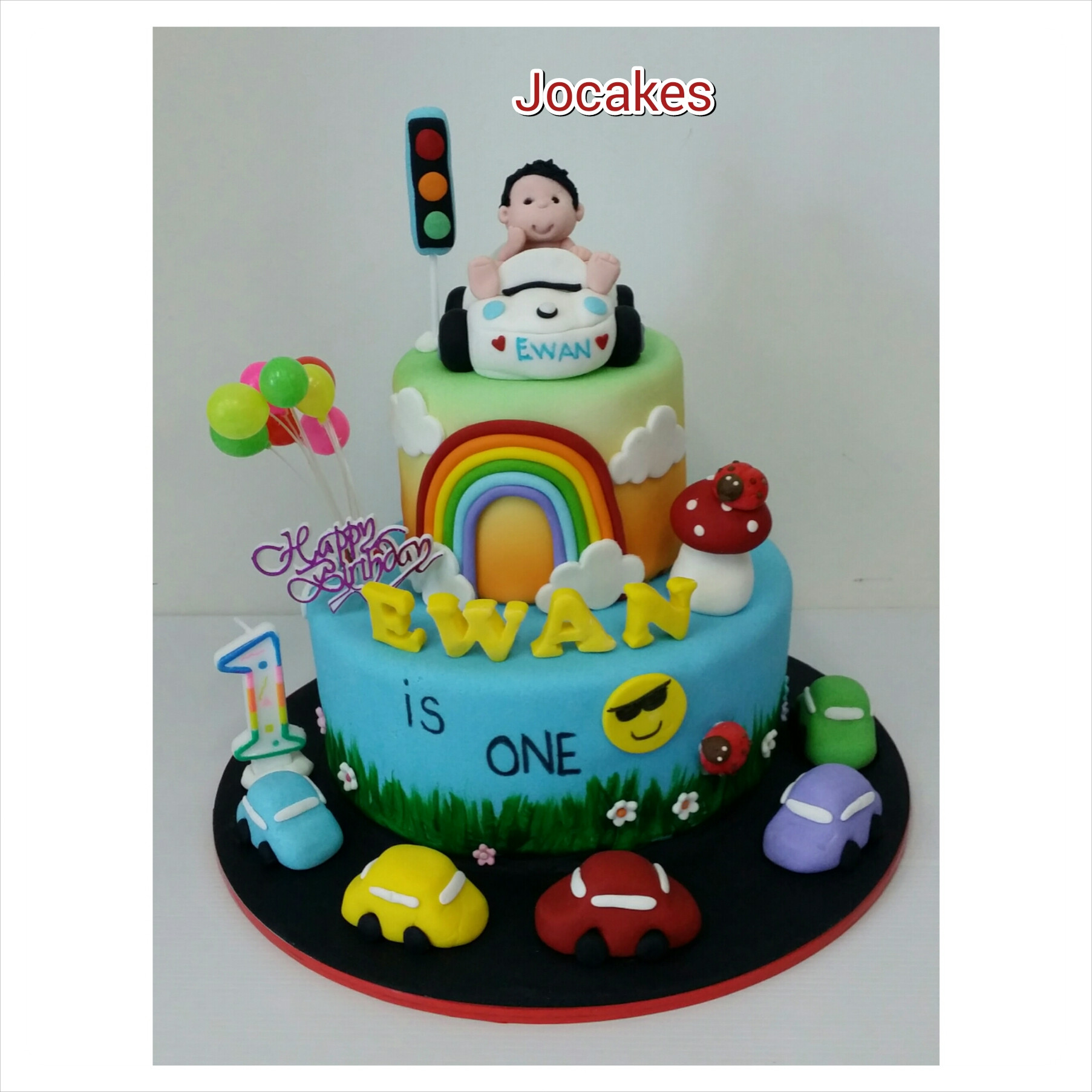 Best ideas about 1 Year Old Birthday Cake . Save or Pin 1 year old birthday cake jocakes Now.