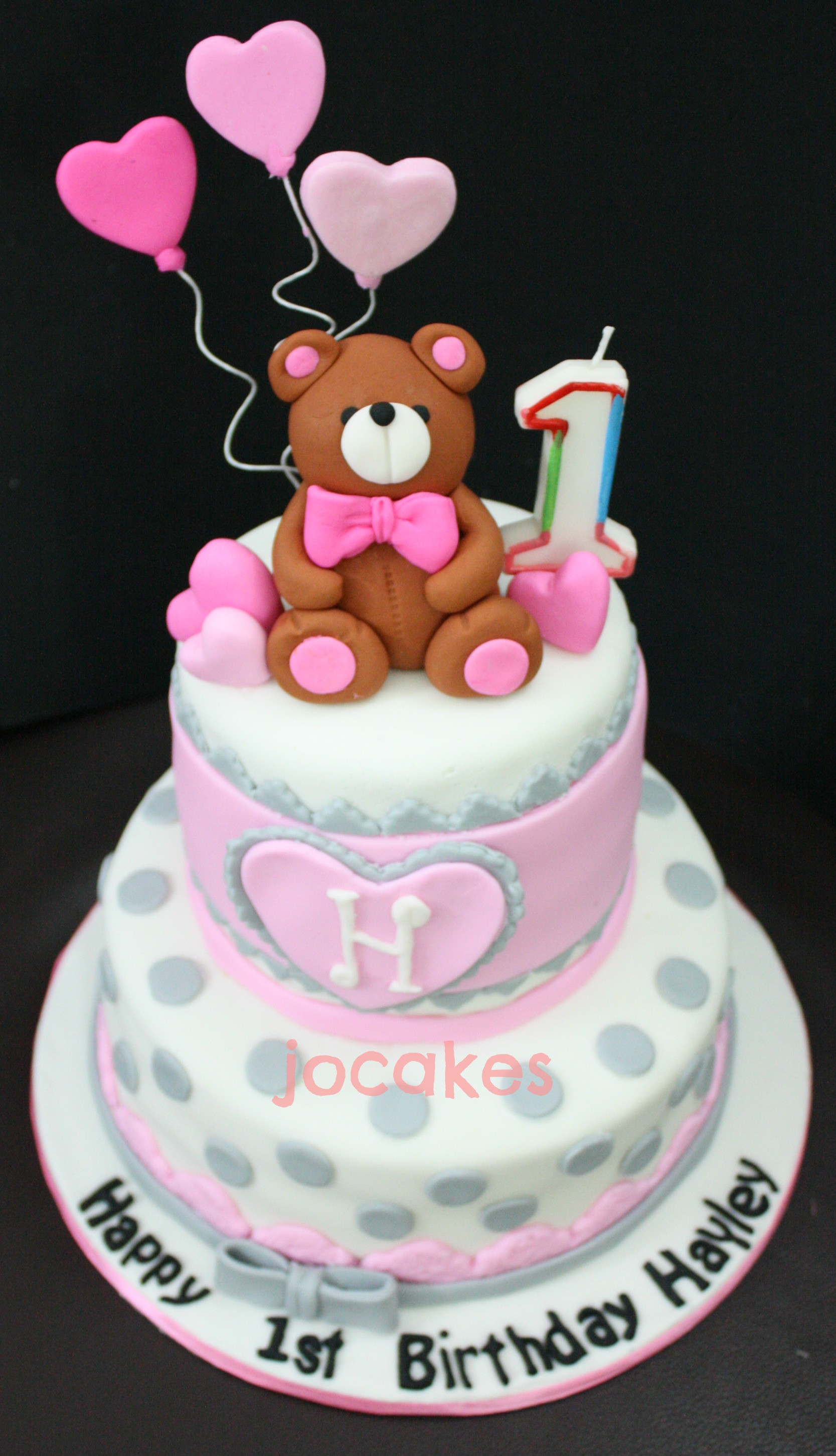 Best ideas about 1 Year Old Birthday Cake . Save or Pin 1 year old birthday cake Now.