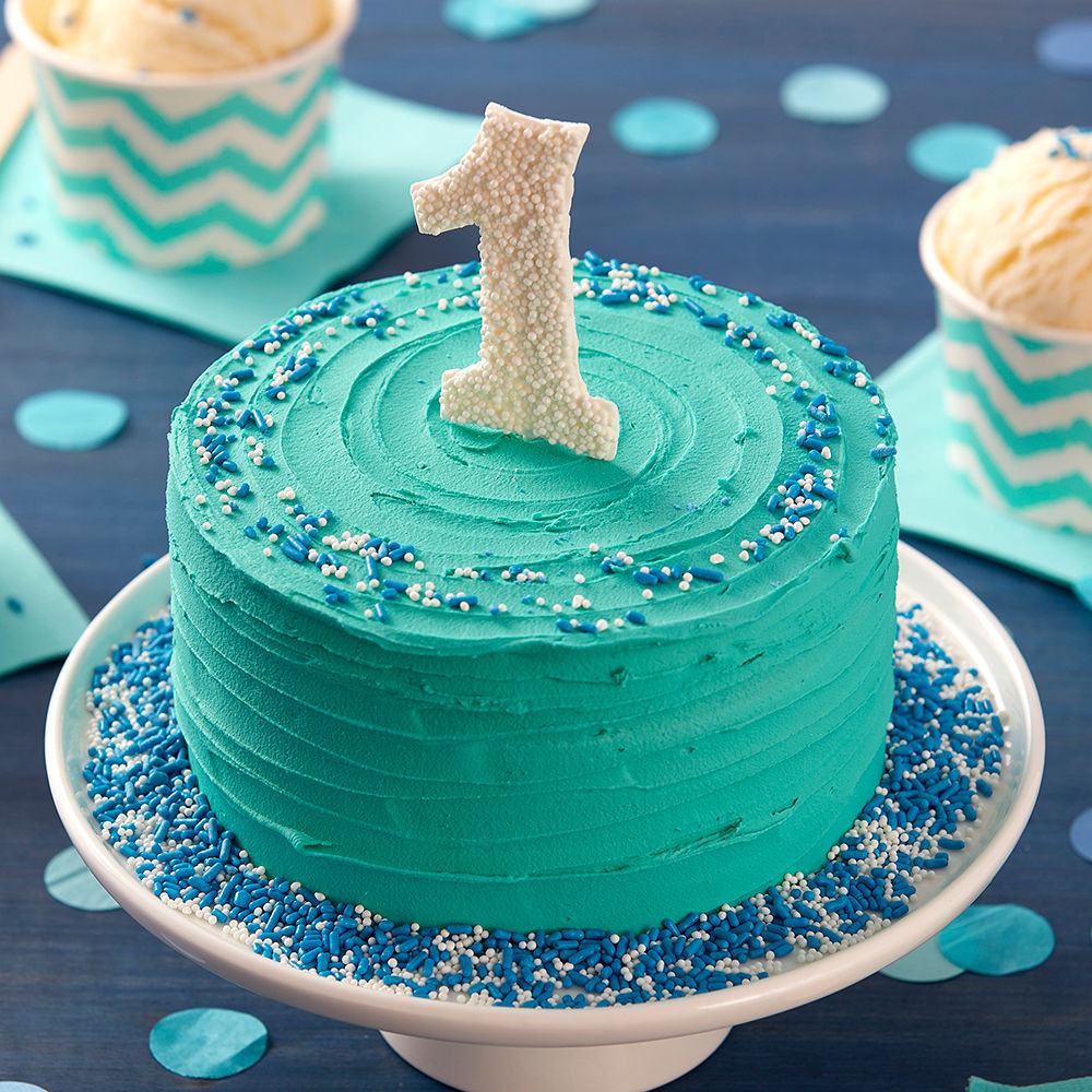 Best ideas about 1 Year Old Birthday Cake . Save or Pin Happy First Birthday Smash Cake Now.