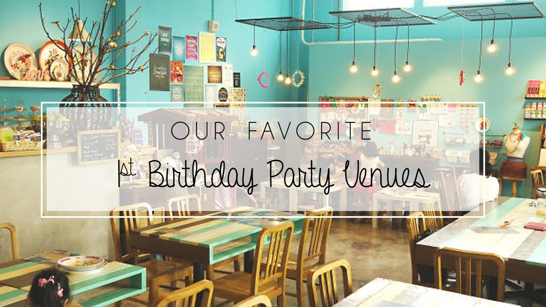 Best ideas about 1 Year Old Birthday Party Places . Save or Pin BLOG The Party Curators Now.