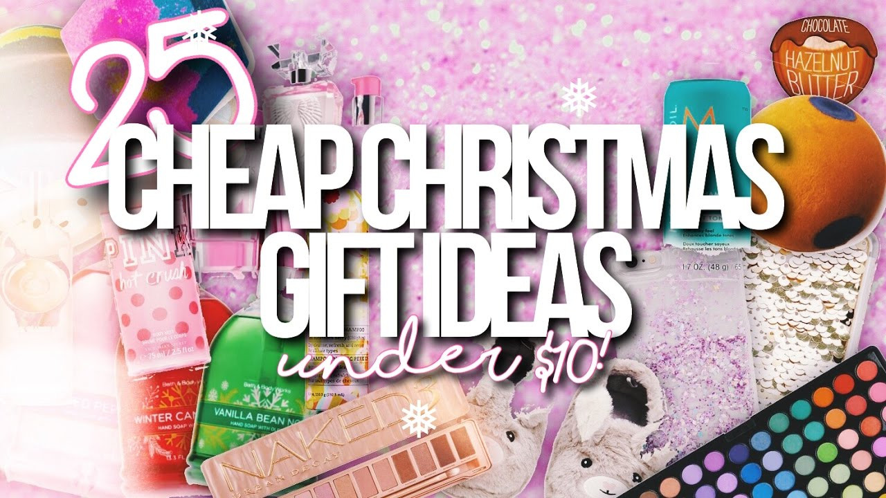 Best ideas about $10 Christmas Gift Ideas . Save or Pin 25 CHEAP CHRISTMAS GIFT IDEAS UNDER $10 Christmas Now.