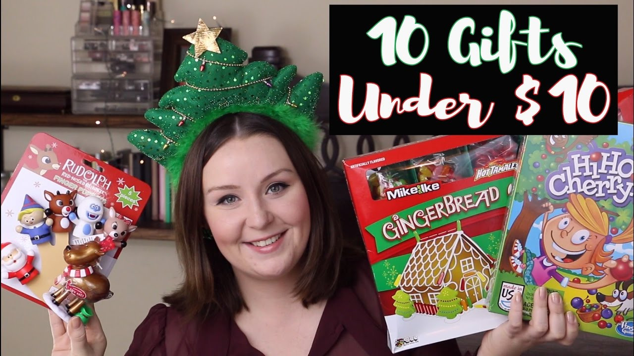 Best ideas about $10 Christmas Gift Ideas . Save or Pin 10 Non Toy Gift Ideas for Children Under $10│Christmas Now.