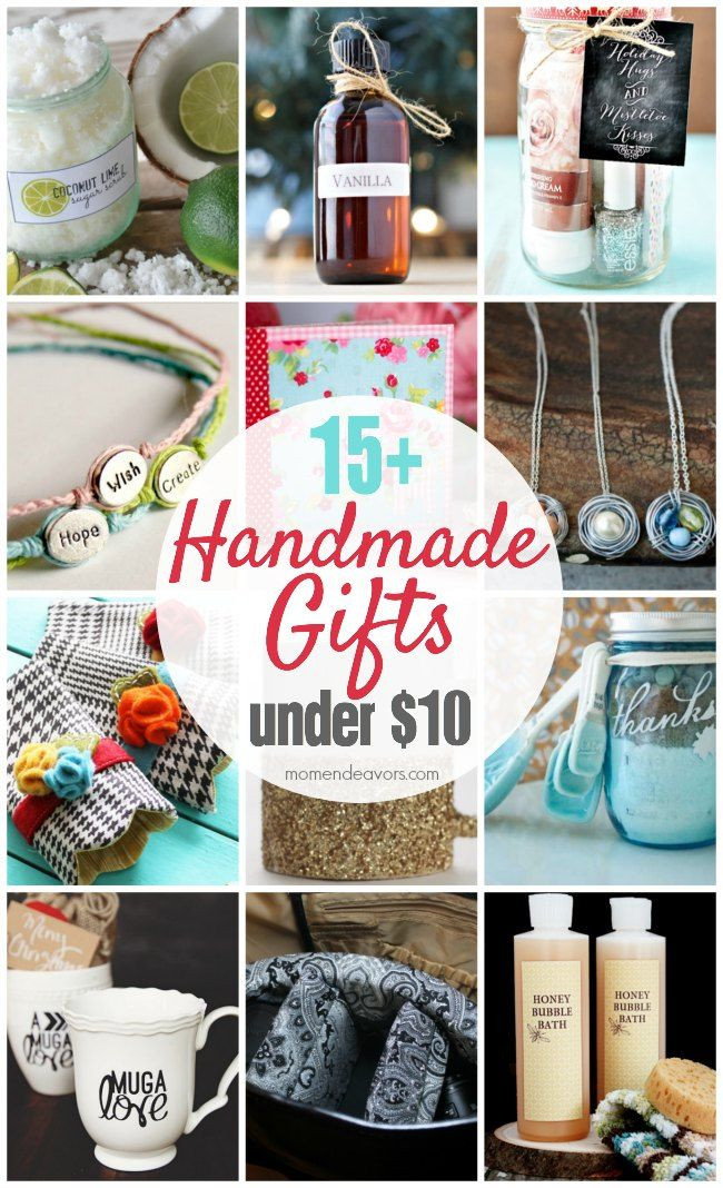 Best ideas about $10 Christmas Gift Ideas . Save or Pin 15 Handmade Gift Ideas Under $10 Now.