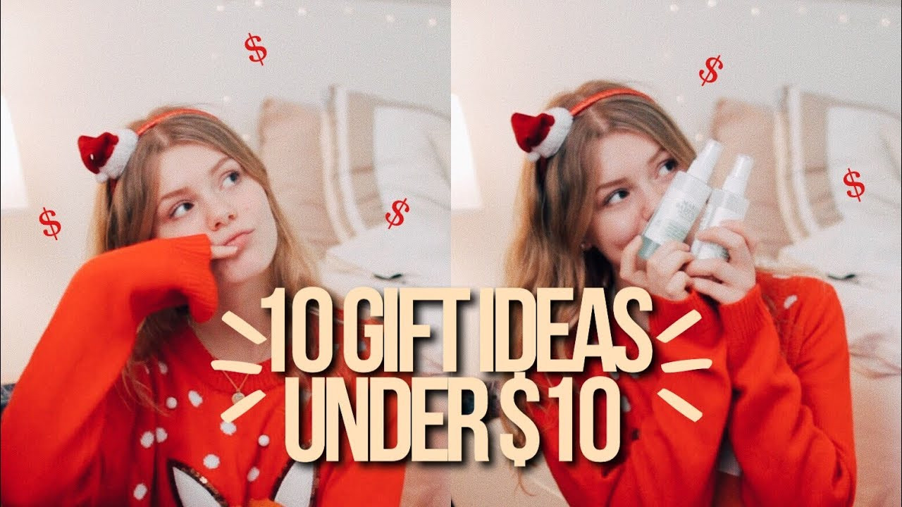 Best ideas about $10 Christmas Gift Ideas . Save or Pin 10 CHRISTMAS GIFT IDEAS UNDER $10 teen christmas t Now.