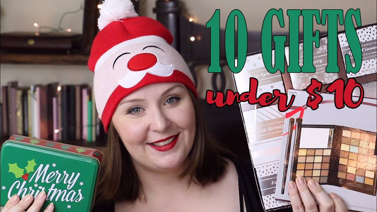 Best ideas about $10 Christmas Gift Ideas . Save or Pin 10 Gift Ideas for Him or Her for $10│Christmas Gift Guide Now.