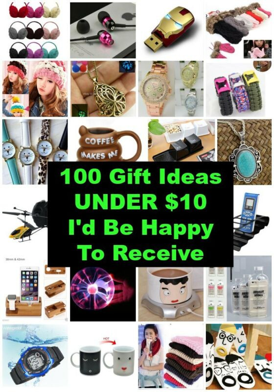 Best ideas about $10 Christmas Gift Ideas . Save or Pin 100 Christmas Gift Ideas Under $10 I d Be Happy To Now.
