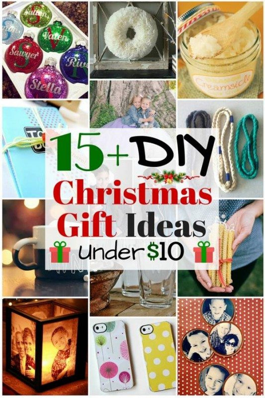 Best ideas about $10 Christmas Gift Ideas . Save or Pin 15 DIY Christmas Gift Ideas under $10 The Bud Diet Now.