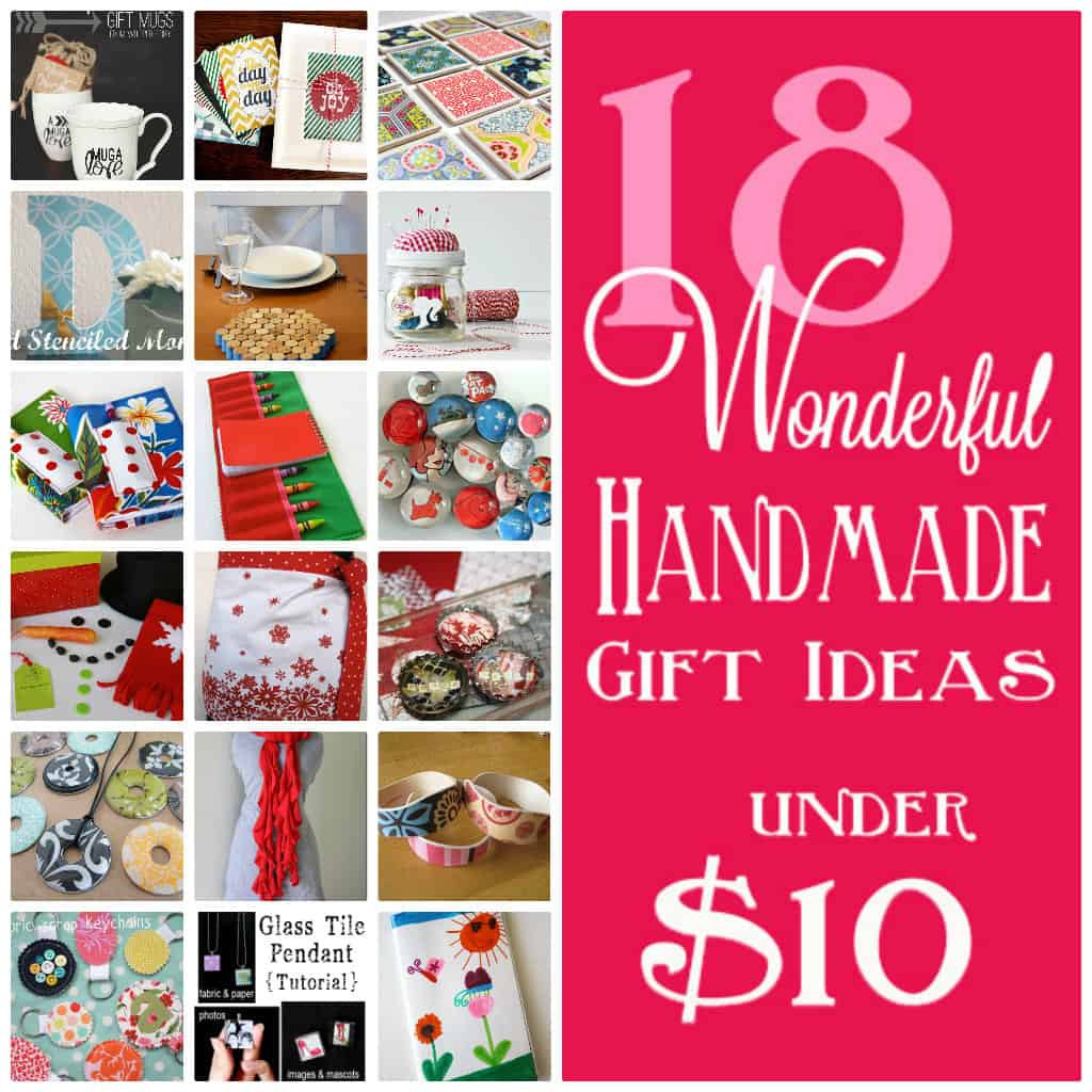 Best ideas about $10 Christmas Gift Ideas . Save or Pin 18 Handmade ts under $10 Now.