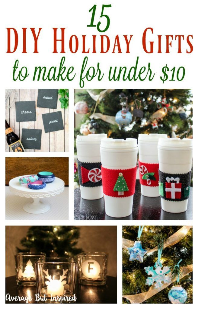 Best ideas about $10 Christmas Gift Ideas . Save or Pin 1000 Christmas Gift Ideas on Pinterest Now.