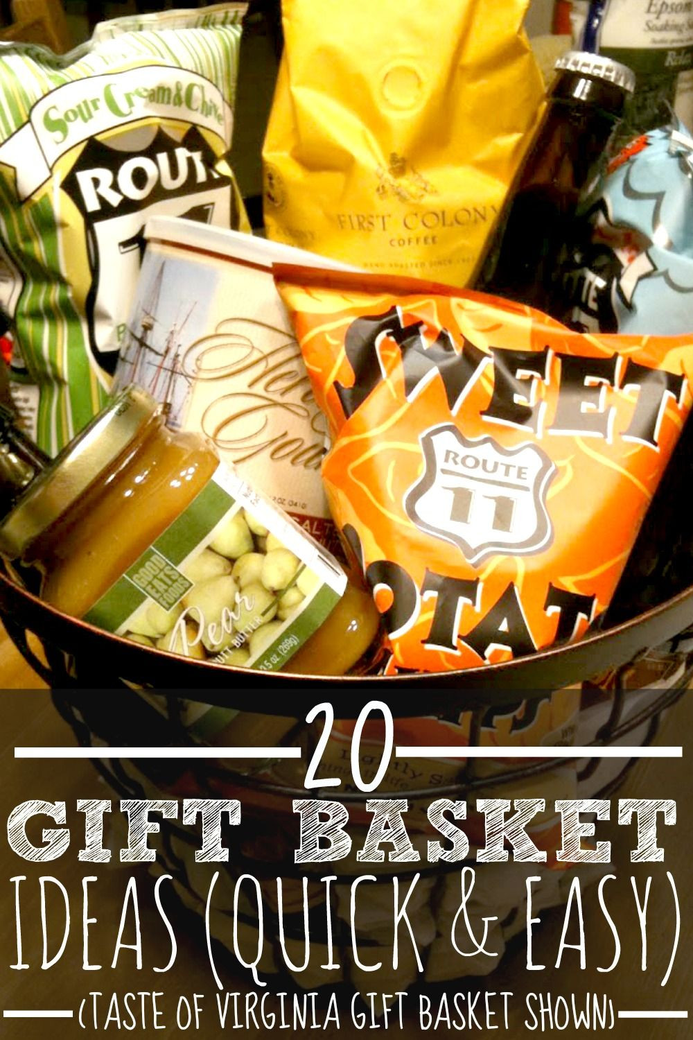 Best ideas about $10 Gift Ideas For Guys . Save or Pin 20 Gift Basket Ideas For Every Occasion Thoughtful Now.